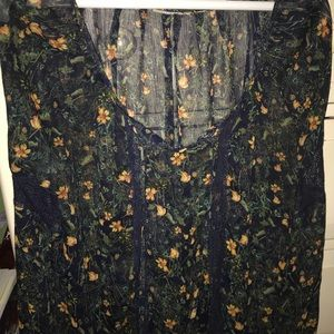 Wet Seal Tops - Floral blouse